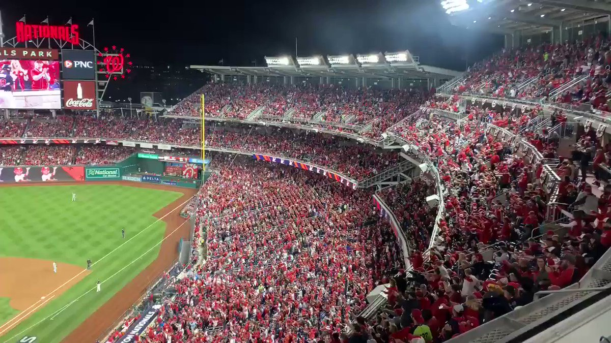 Parra baby shark intro. Then singles to right field in 6th #Nats #NLCS