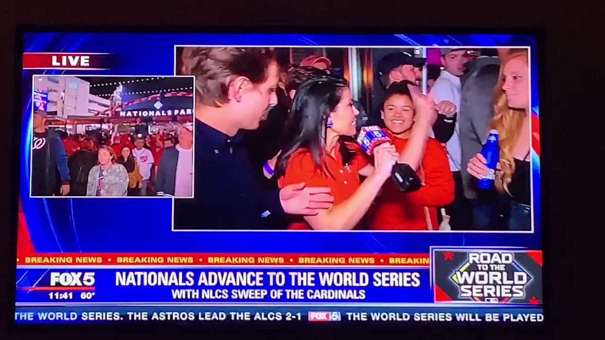 Angie Goff @OhMyGOFF handled this @Nationals fan like a boss #STAYINTHEFIGHT