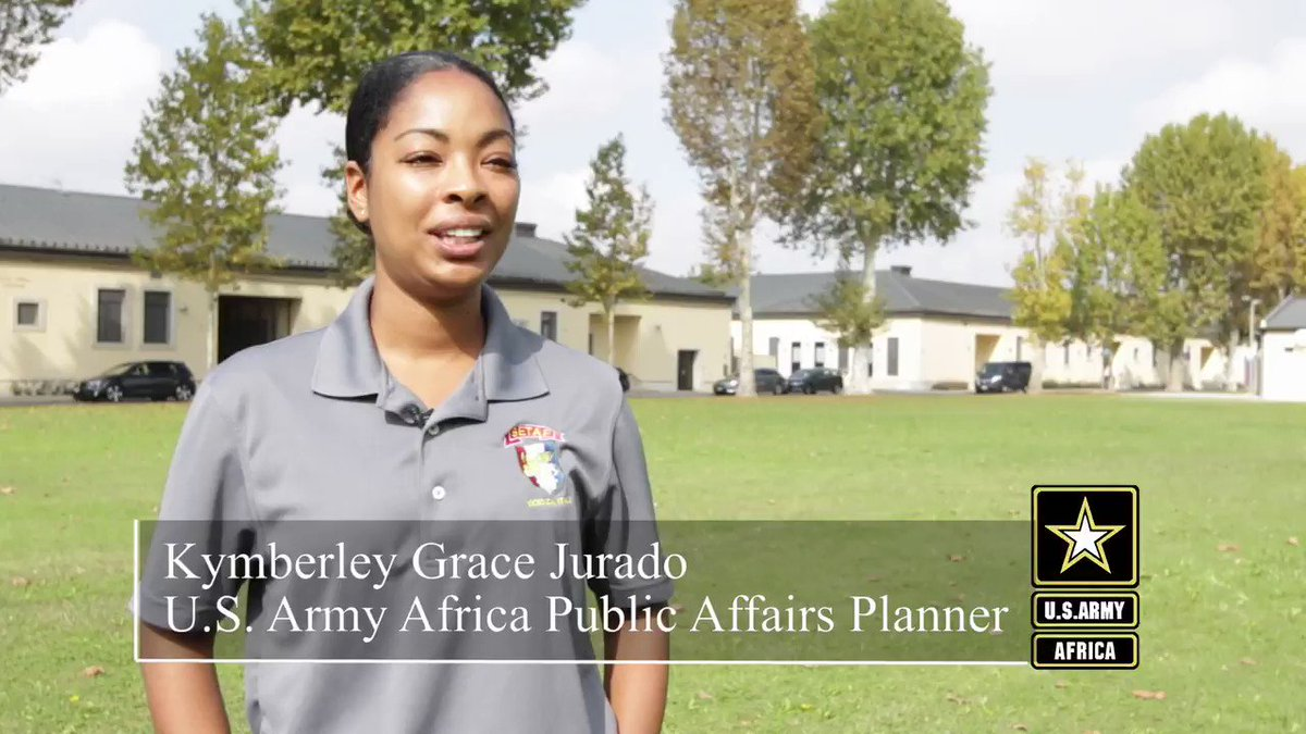 #WhyIServe #HispanicHeritageMonth Check out the video below to see why Maj. Kymberley Grace Jurado serves in the U.S. Army Reserve and as a civilian for U.S. Army Africa. #KnowYourMil #USArmy #SoldierStory #Soldiers @USArmy  @DeptofDefense  @USArmyReserve  @USAfricaCommandpic.twitter.com/ggDeH68ZNb