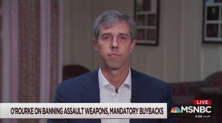 Beto Finally Admits He Would Send Officers Door To Door To Enforce Gun Grab