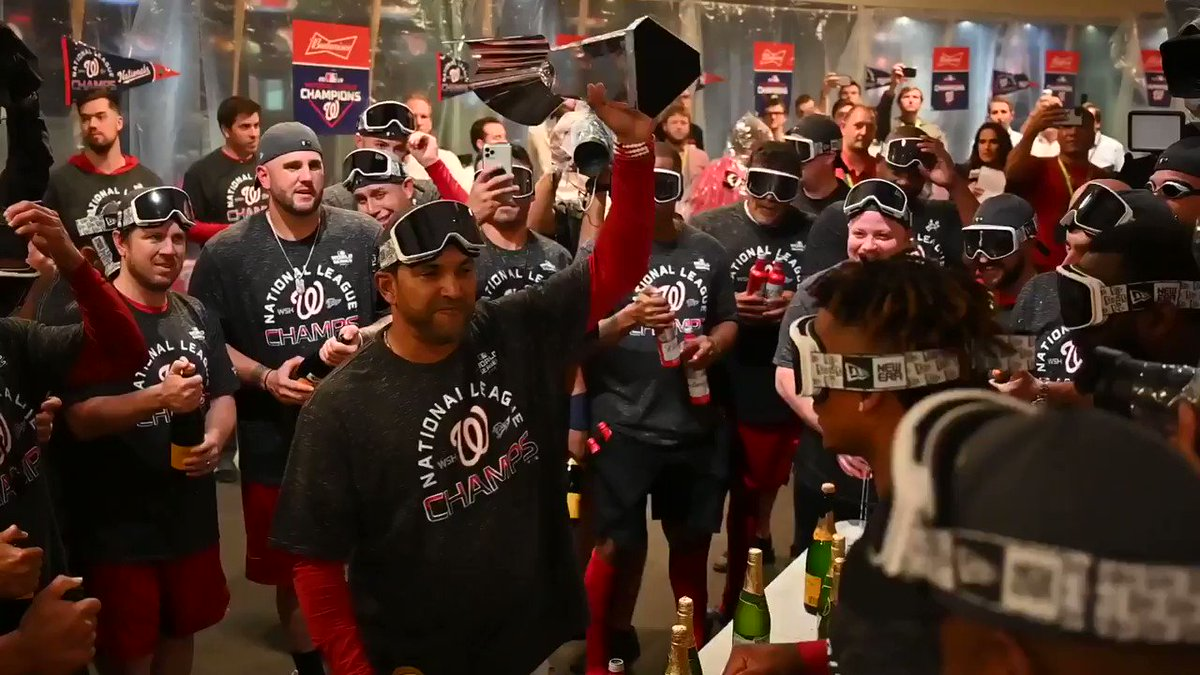 World Series: Best videos, photos of the Nationals' NL pennant party