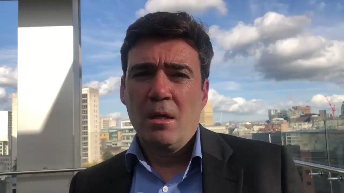 The government is looking into stripping the train operator Northern Rail of its franchise. @MayorofGM Andy Burnham says it's well overdue #CapitalReports