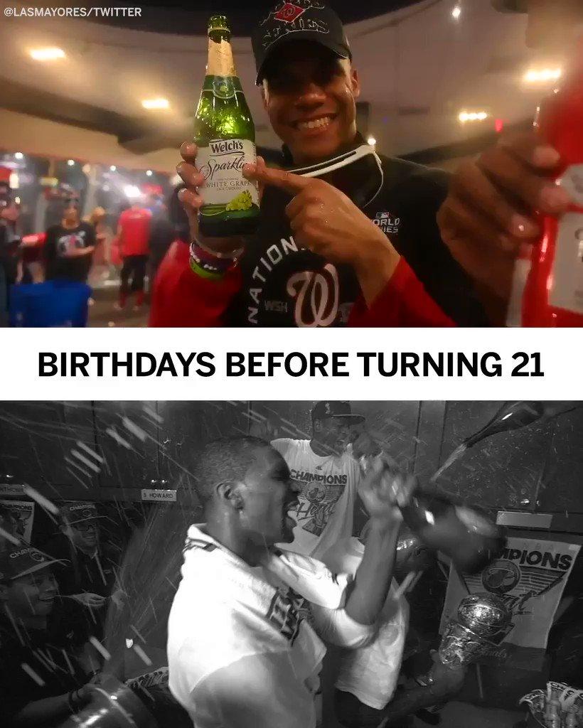 Two very different ways of celebrating 😆  (via @LasMayores)