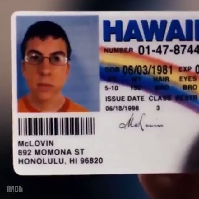 "An Underage Kid Was Arrested With A ""McLovin"" Fake ID And You Know Seth Rogen Had The Best Take"