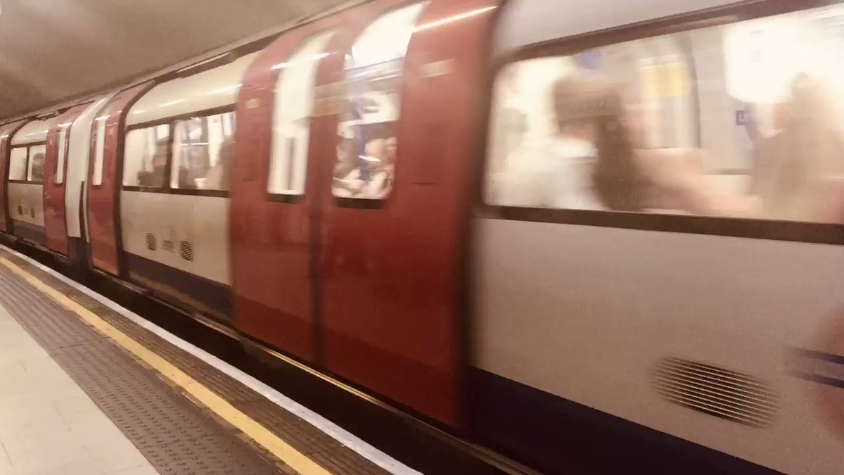 London is a place where no one stays still.....   #LondonSubway