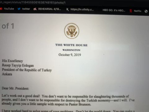 Donald Trump Impersonator Goes Viral Reading President's Strange Letter To Erdogan