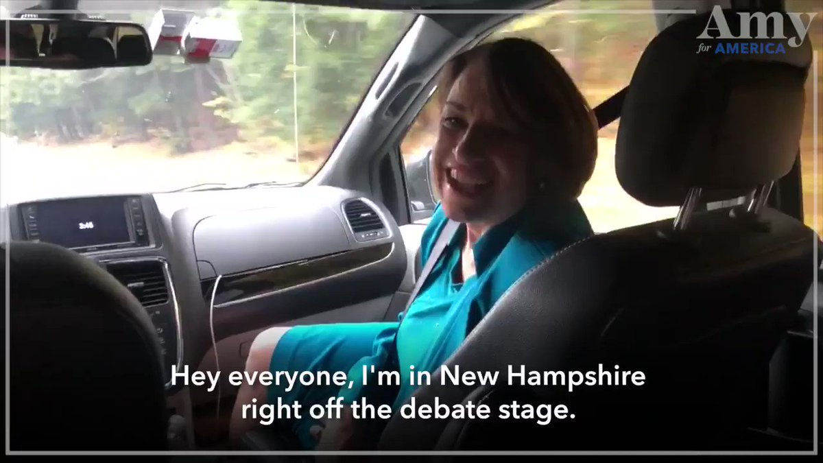 Fresh off of the Ohio debate stage, I'm in New Hampshire! Three hours of sleep isn't stopping me from visiting all 10 counties (once again) in 30 hours. Can you give $3, $30, or $300 to keep the momentum going?