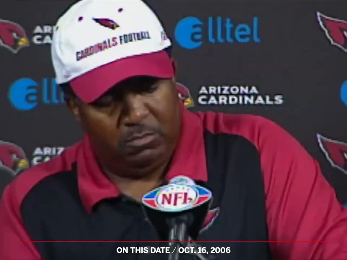 """On This Date: 13 years ago today, Dennis Green declared the Bears """"are who we thought they were."""""""