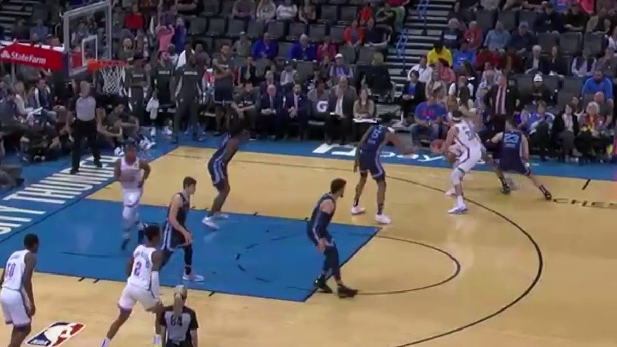 Solid preseason minutes (13') for Mike Muscala.  17p (incl 71% from 3) https://t.co/BrK4Fb9HKw