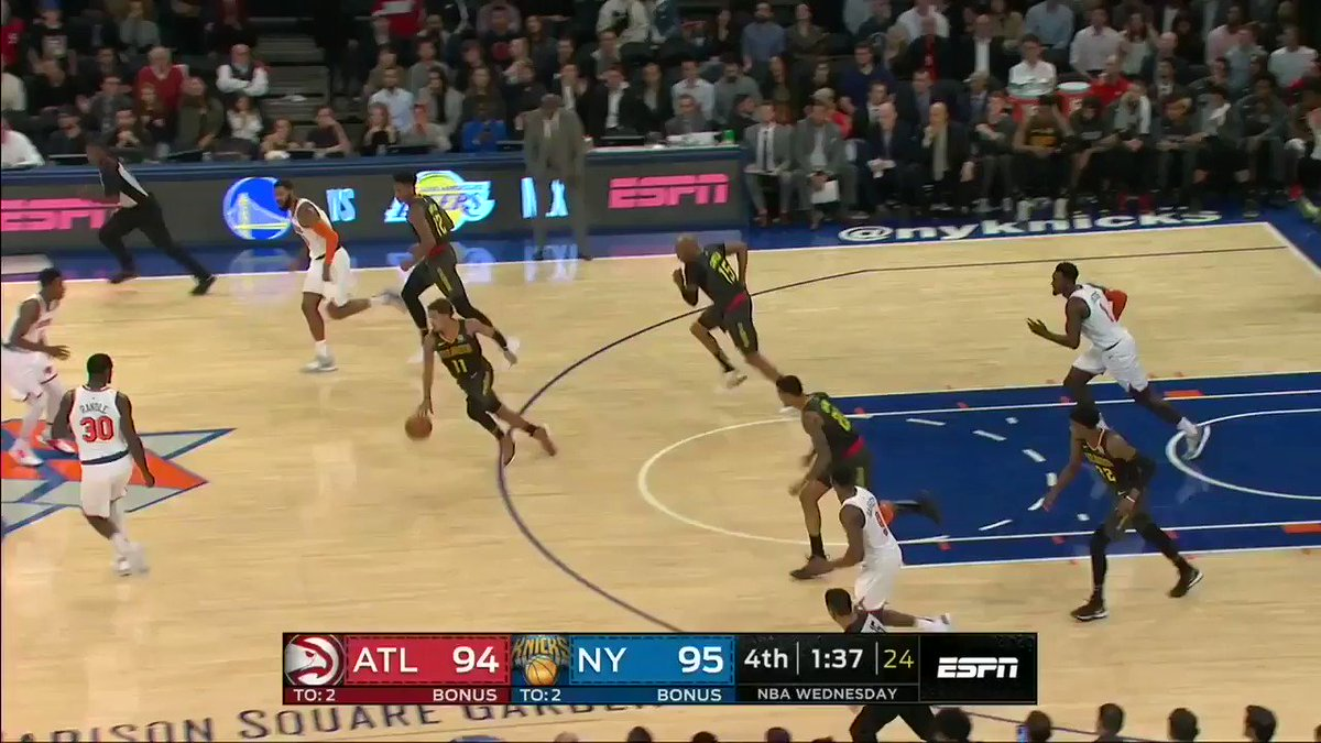 CLUTCH THREE FROM VINCE 💪 #NBAPreseason