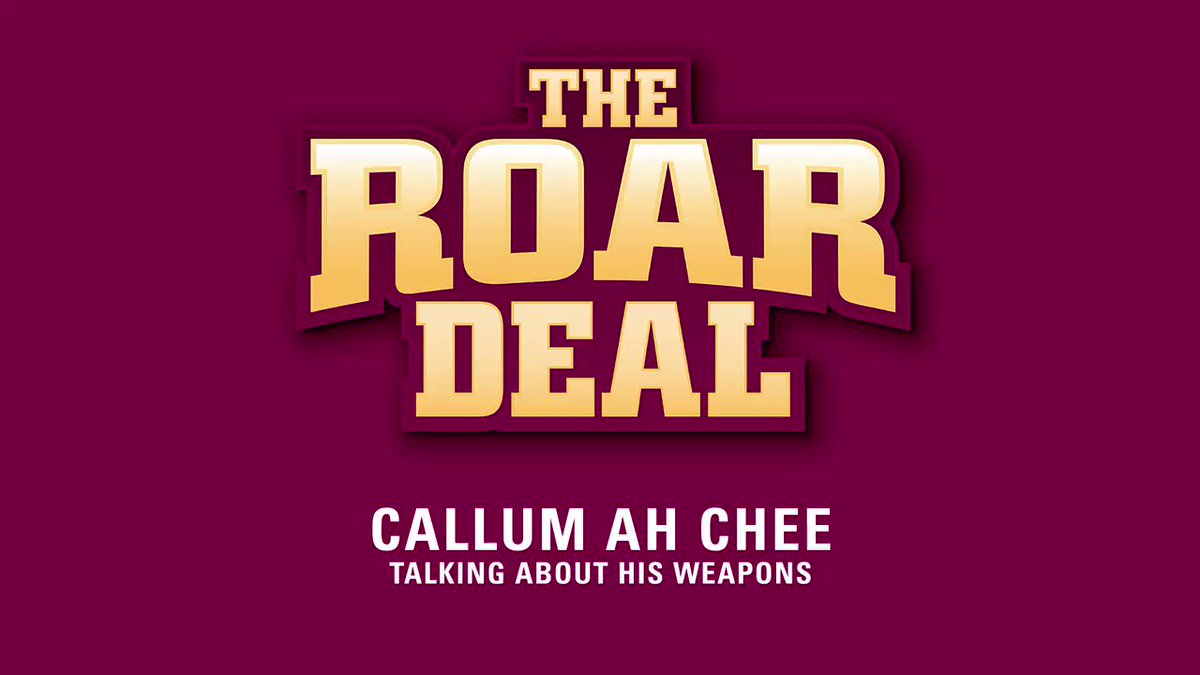 Image for the Tweet beginning: Callum joined the RoarDeal to