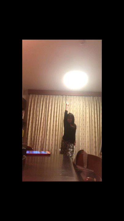 そしてこちらなぜか踊り狂った動画in実家あんこってこんな動けるの?ってよく言われます。ちゃんと走れるし(早くないけど)ちゃんと動けるんだぞっ。#ロミシン #ボカロ #踊ってみた#くねくね #ダンス