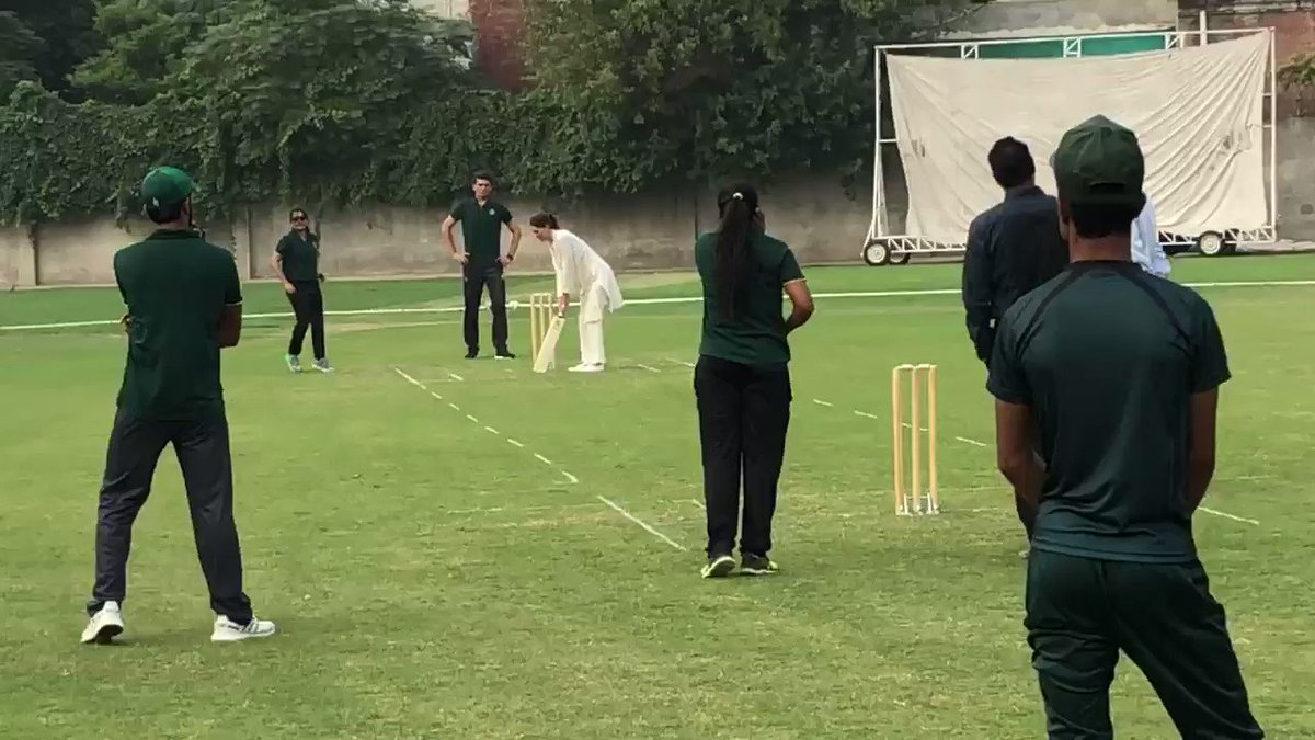 Kate Middleton and Prince William have a ball playing cricket on royal trip to Pakistan