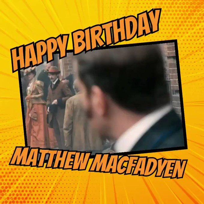 Happy Birthday Matthew Macfadyen