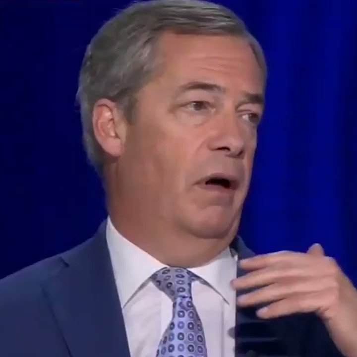 📺 | @Nigel_Farage: OK, the backstop gets replaced with something else. From the DUPs perspective it may feel as bad if perhaps even worse than the backstop! Lets say this got agreed, would it end the problems of this great Brexit debate? No! Were gonna be half in, half out.