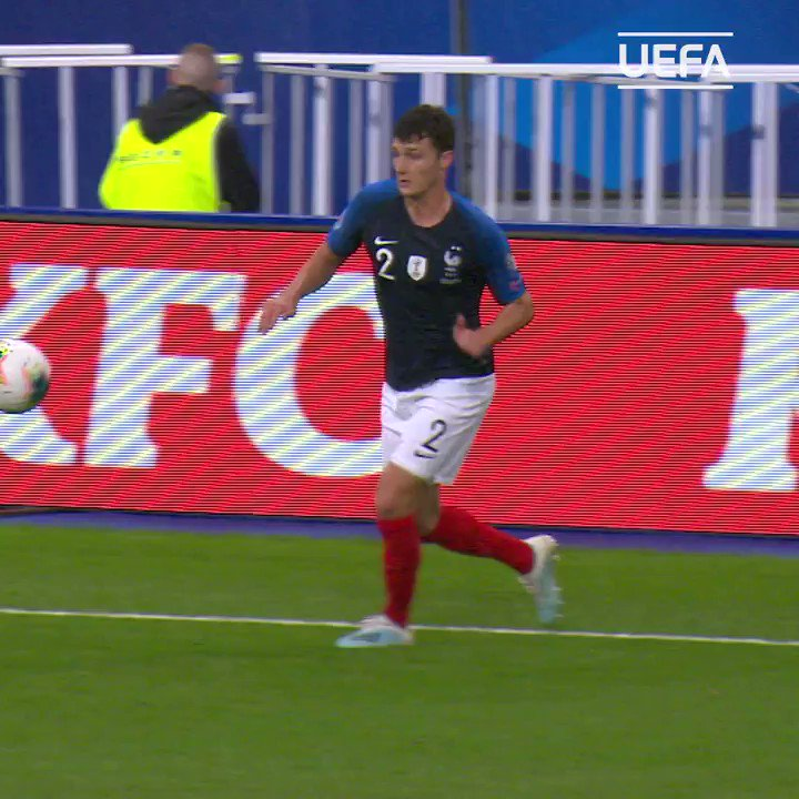 🇫🇷 Pure fire by Benjamin Pavard 🔥 #EURO2020 | @FrenchTeam