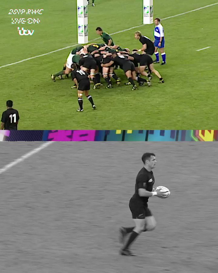 Two of the @AllBlacks best-ever Rugby World Cup quarter-final tries #RWC2019 #ITVRugby