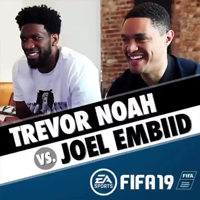 Throwback to anyone who hasn't seen it, but mostly for my dude @joelembiid to rewatch 😂 Watch the full video here —> https://youtu.be/KUVENc1VVIE