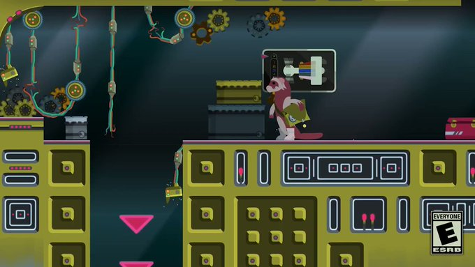 Widget Satchel a mischief metroidvania is coming to the Nintendo Switch and PC later this year