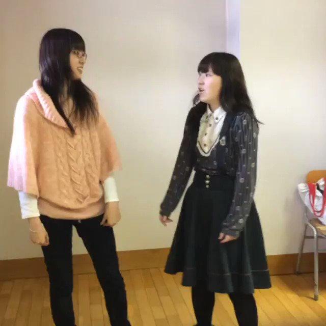 写真だけ見て「紗雪さんってクールなイメージ!」とか言われますが中の人こんなだから軽率に仲良くしてくださいよろしくお願いします(こちら学生時代に撮った動画。左が紗雪。)