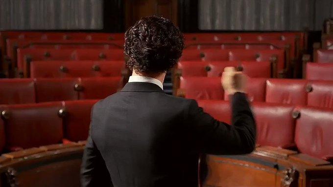 Happy birthday Mr Mark Gatiss, thank you for your brilliant work creating Sherlock!
