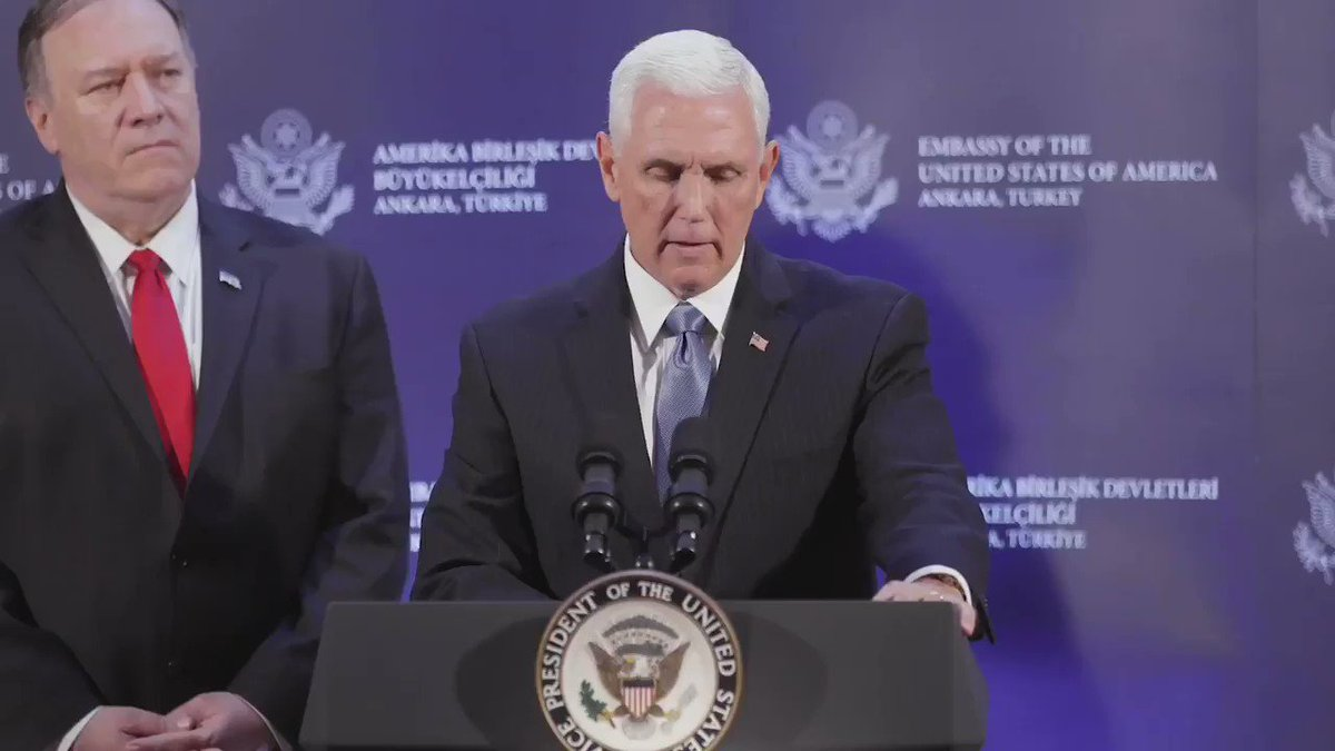 Vice President Mike Pence (@VP) on Twitter photo 2019-10-17 19:15:21