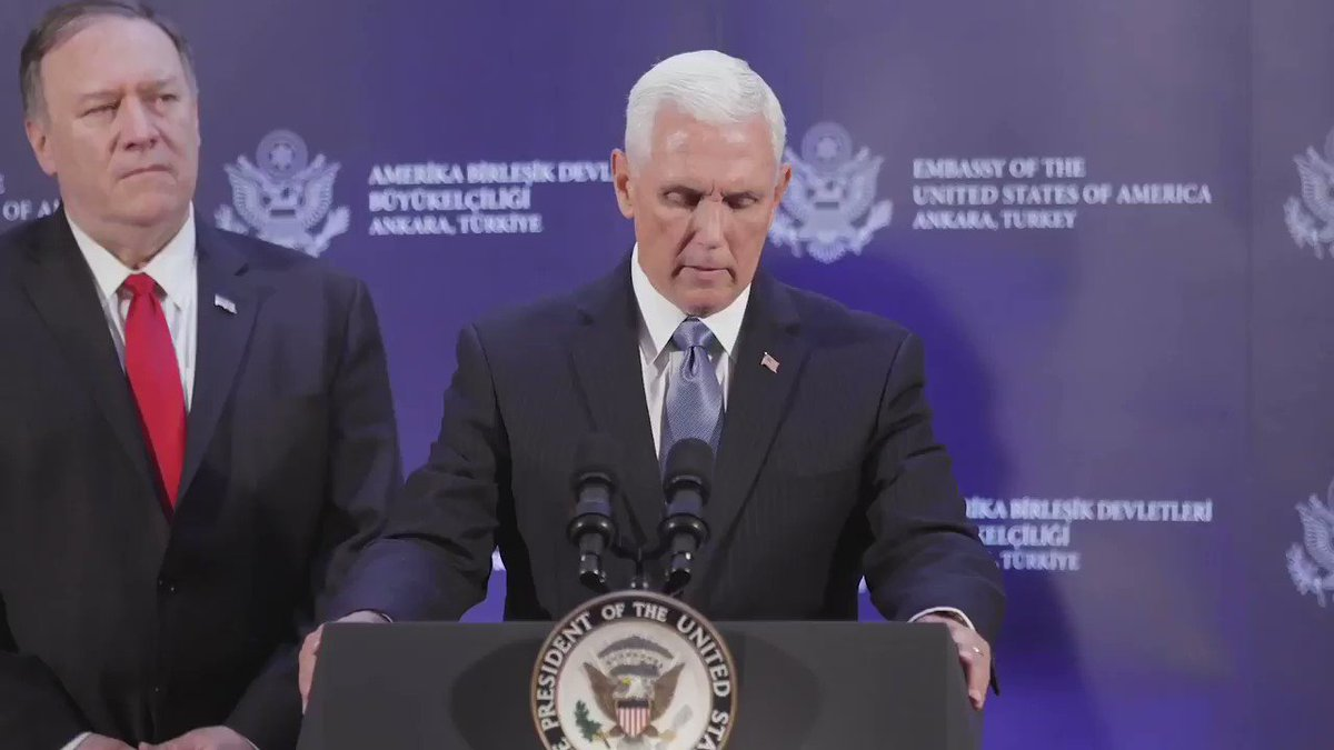Vice President Mike Pence (@VP) on Twitter photo 2019-10-17 19:56:24