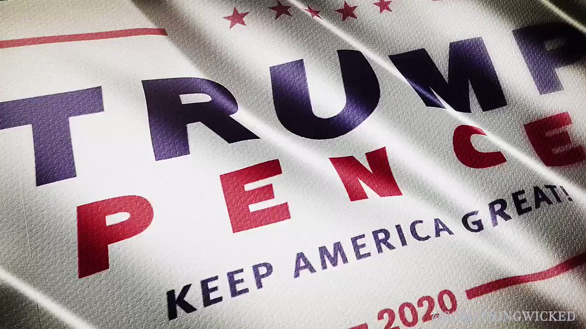 Folks always asking me for source elements. Made a bunch of #Trump2020 flags yesterday if y'all want to download and use for GIFs or your own compositions. Enjoy. #KAG 🇺🇸 #TrumpRallyDallas