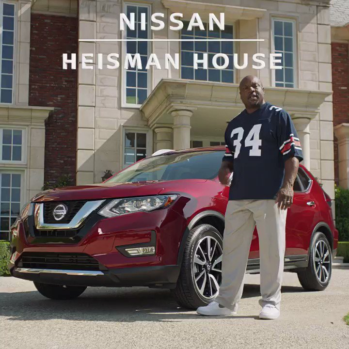 I always thought @bojackson was the greatest of all time but the @NissanUSA #HeismanHouse smart home speaker has me thinking twice. #boknows right @K1 @KingHenry_2 ??? #ad