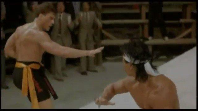 Happy Birthday, Jean-Claude Van Damme!  Bloodsport - Dir. Newt Arnold