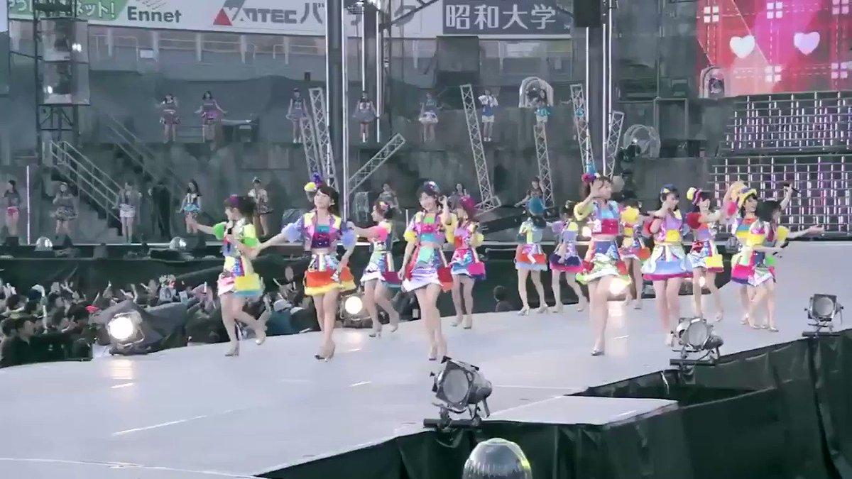 今はIZONEの宮脇咲良のことを知ってる人の方が多いのかもしれないけど、この頃のさくらたんもめちゃくちゃ可愛くてアイドルアイドルしてて大好きだから見てほしい。 #HKT48 #AKB48