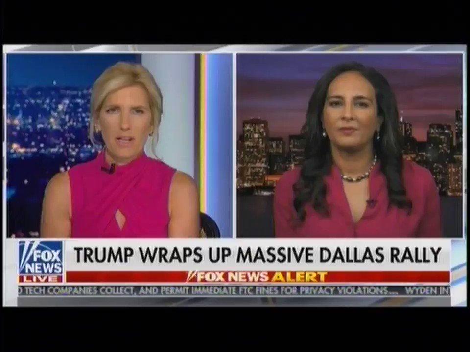 .@pnjaban on last night's rally in Dallas, Texas — and how Texans are winning under President @realDonaldTrump's leadership ⬇️