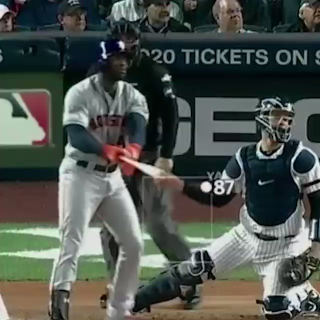 I think the umpire just wants to be a ball player