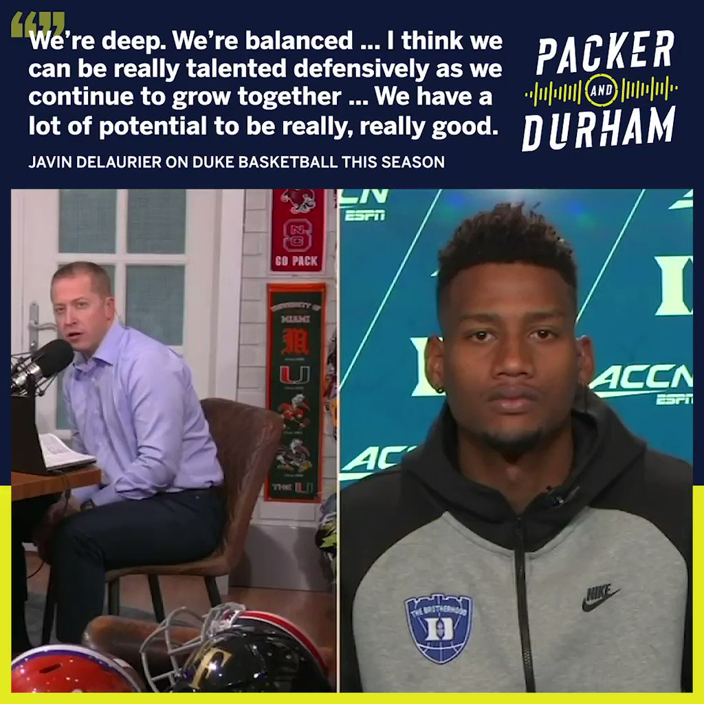 Deep ✔️ Balanced ✔️ Skilled ✔️ @DukeMBB has you covered this season 🔵😈