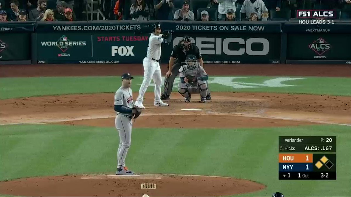 'Hicks! Hits one to the sticks!'