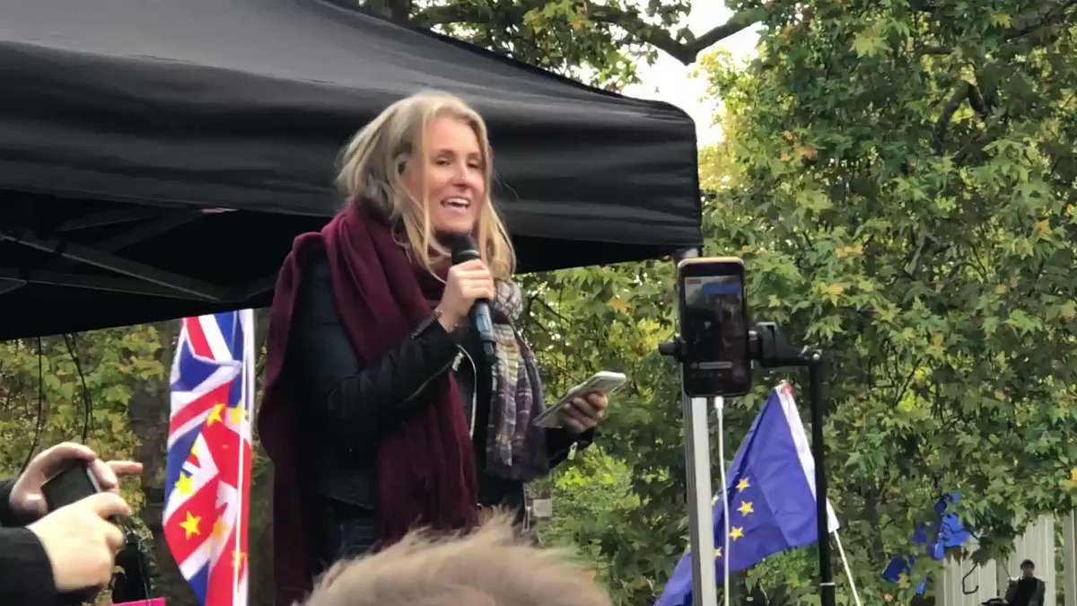 Alex Phillips at the #peoplesvotemarch #stopbrexit @alexforeurope
