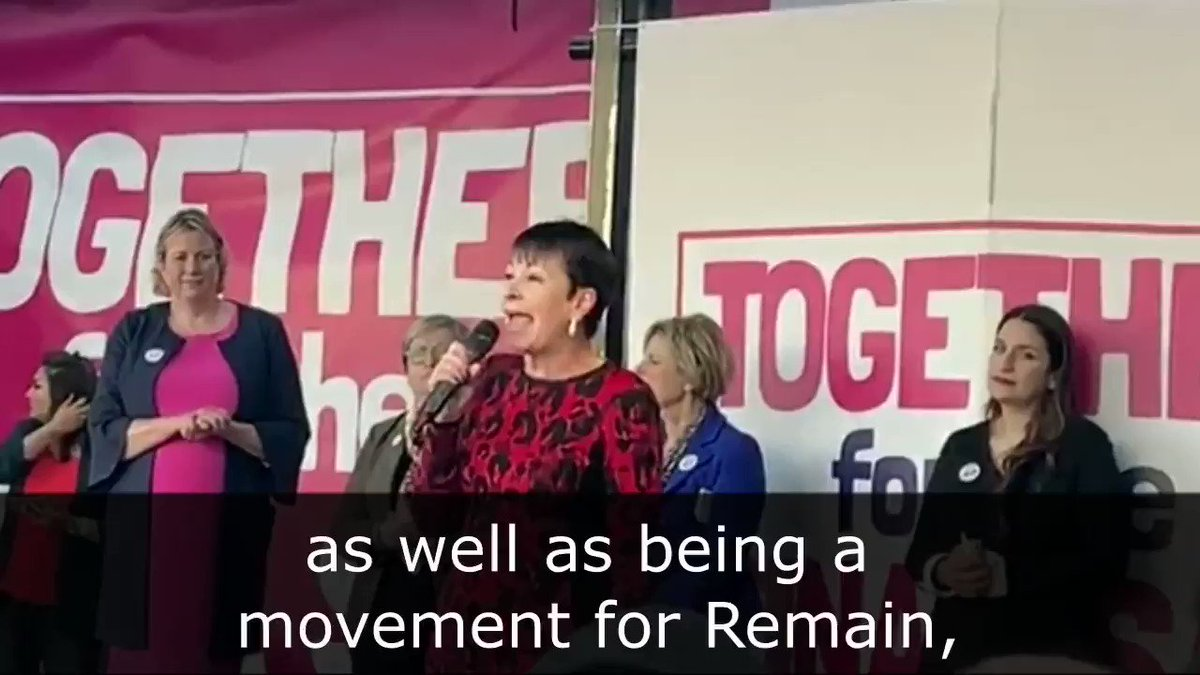Together we have stopped Boris Johnson in his tracks. Watch @CarolineLucas phenomenal speech to over a million people at the #PeoplesVoteMarch.