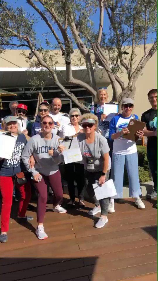 We went back behind enemy lines and registered a bunch of Democrats today! 😎 #SaveTheWorld #FieldTeam6 #Irvine @DemsofIrvine #CA45 @dccc @fieldteam_6