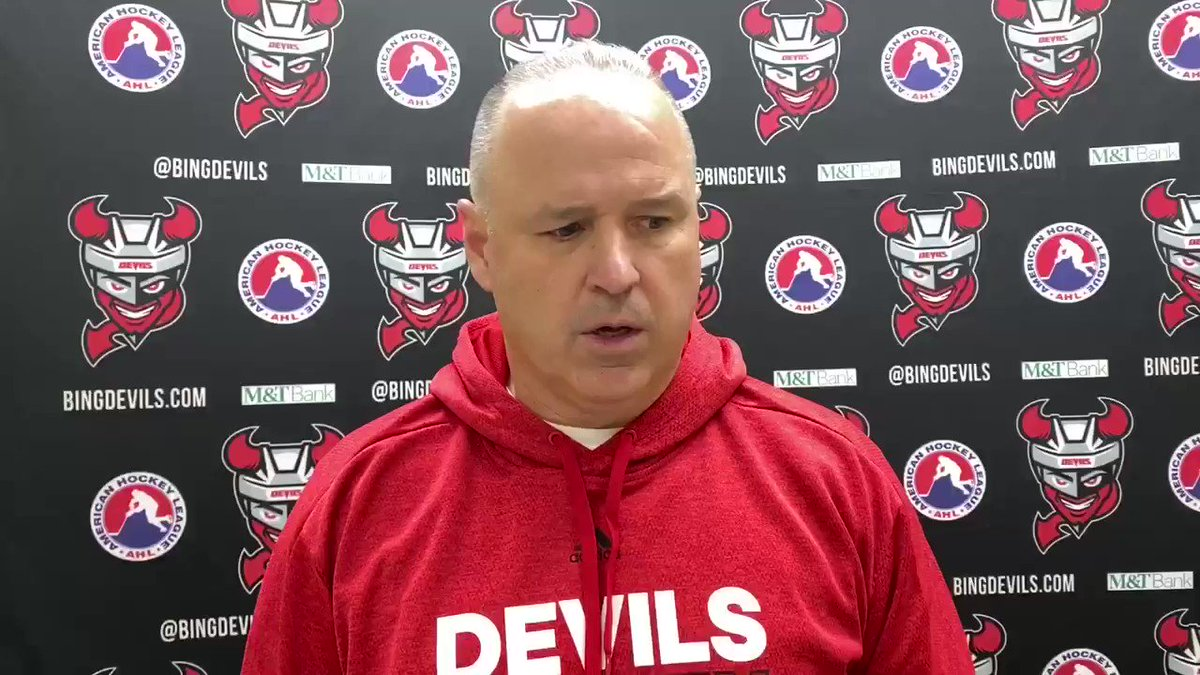 Image for the Tweet beginning: Coach's thoughts on tonight's OT
