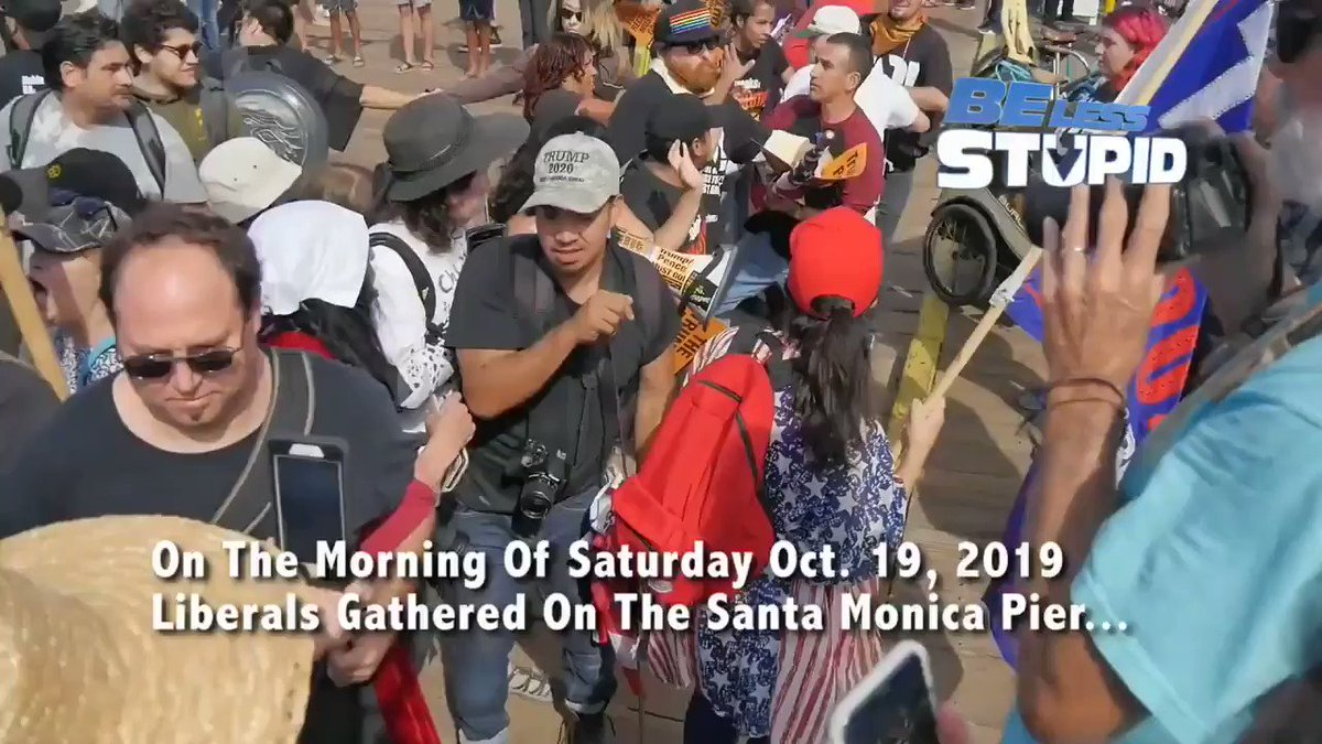 Despite the pepper spray attack #TrumpPenceOutNow protesters are even more determined to grow in #.s & momentum to drive out #trump #pence. Where will you be next Sat the 26th? Join us at MacArthur park 2 P.M. Footage @hotchkiss_jon