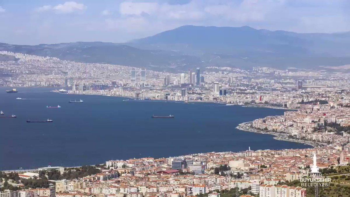 Image for the Tweet beginning: Günaydın İzmirim...