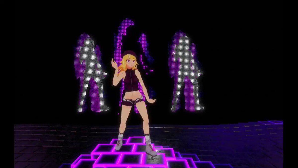 Rock N' Roll (Just Dacne 4)例のダンスワールドでやってみた