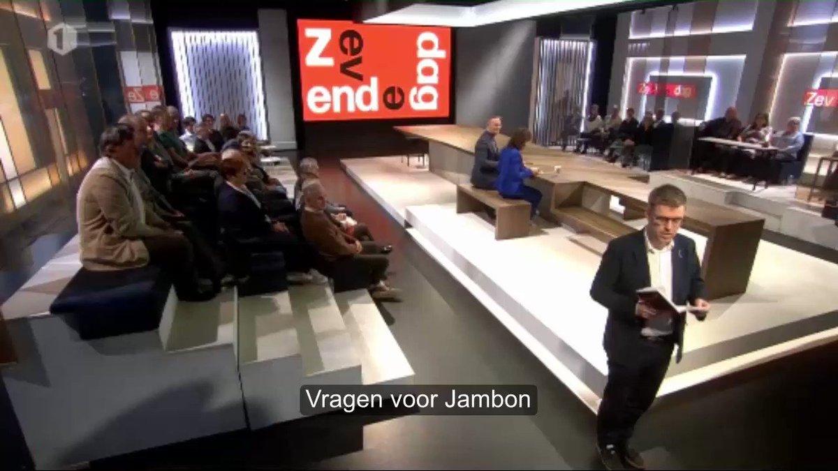 RT @StijnDePaepe: Vragen voor #Jambon. 📝 #7dag #HetLaatsteWoord https://t.co/ZJL3BNOFlc