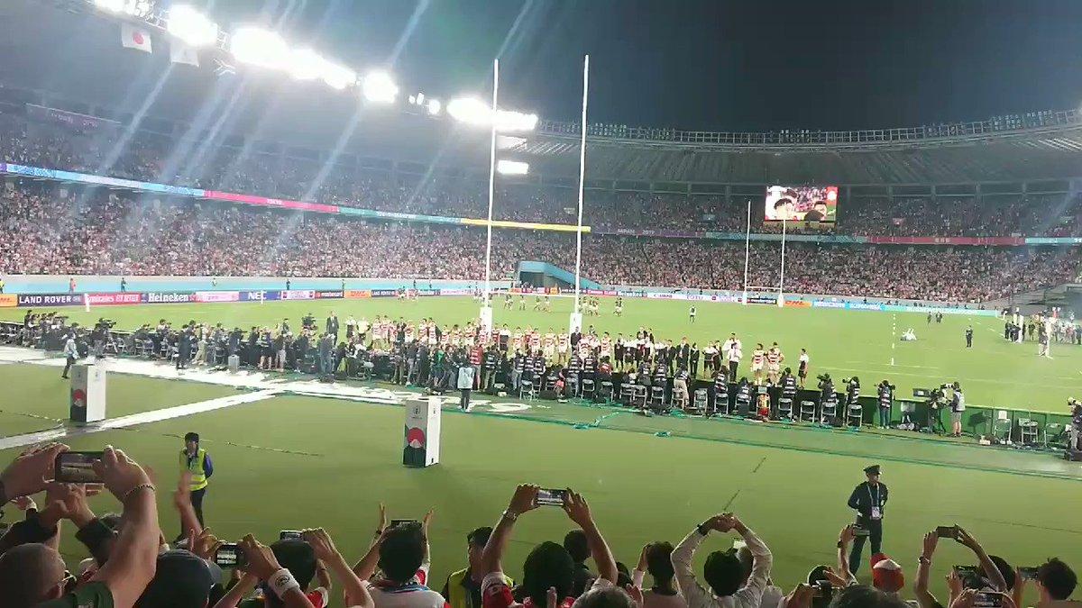 ありがとう日本!!