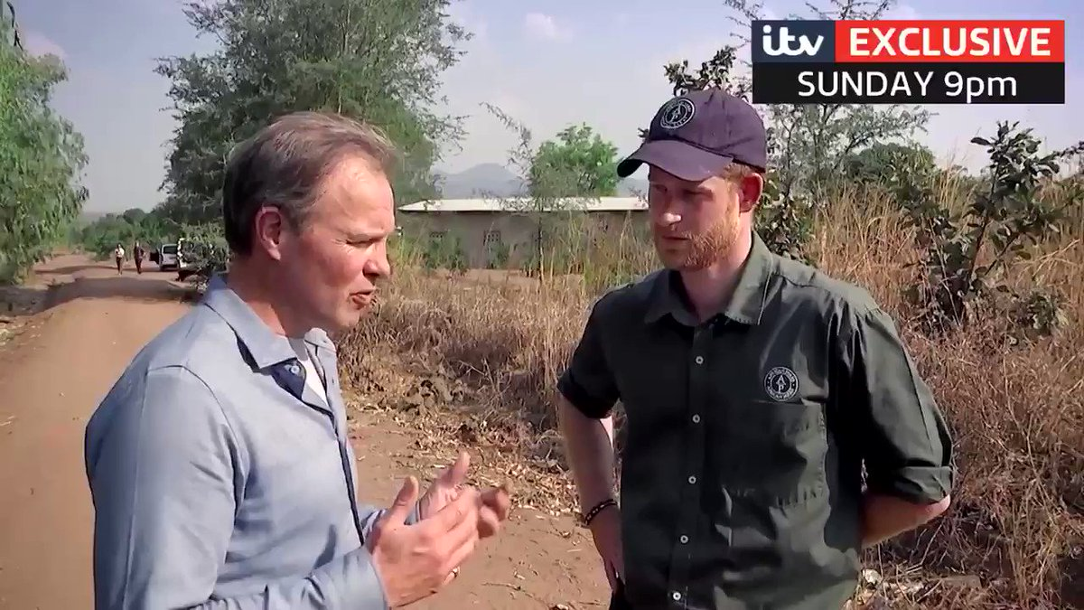Prince Harry opens up about whether he'll move his family to Africa