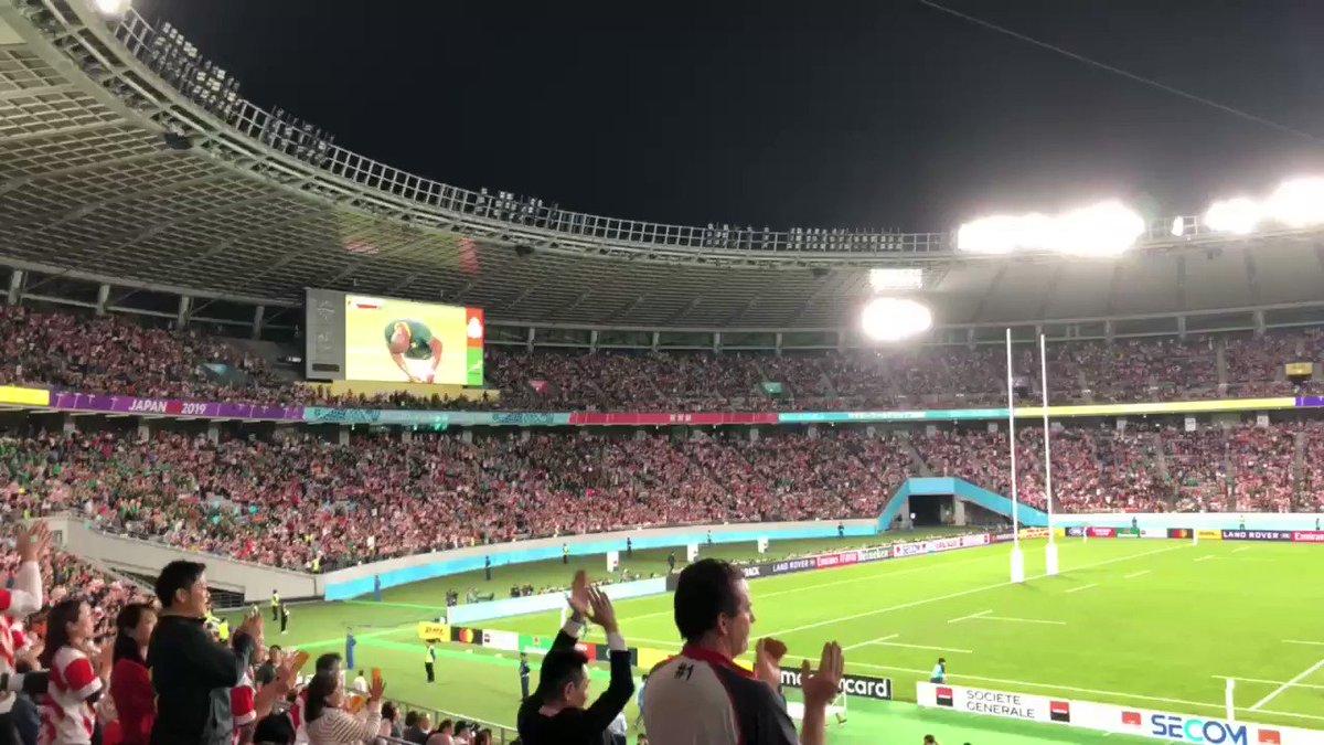 日本代表🇯🇵お疲れ様でした!今日の試合は残念だったけど、初のベスト8、アイルランド🇮🇪やスコットランド🏴にW杯で初勝利など、素晴らしかった!準々決勝というネクストレベルでの南アフリカはやっぱり強かった!RWC2019でラグビーを知ってくれた皆さん、これからもラグビーを宜しくお願いします!