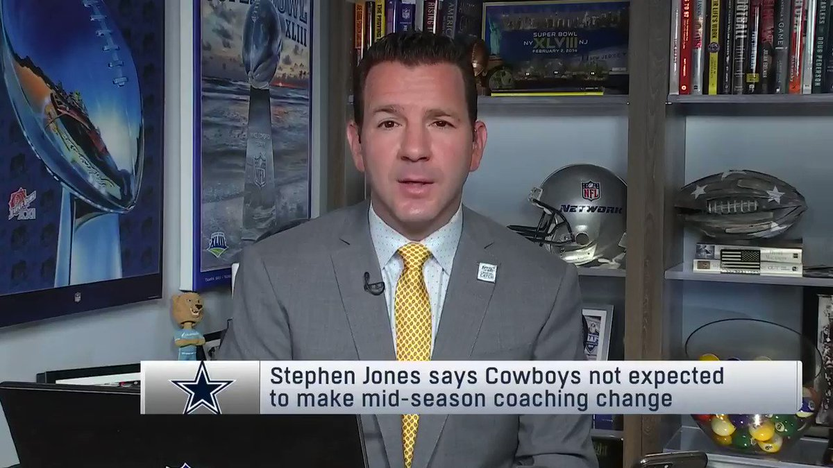 Image for the Tweet beginning: From @NFLGameDay: #Cowboys COO Stephen