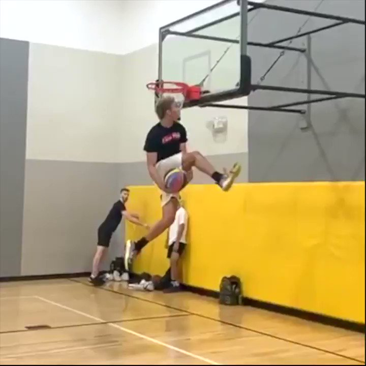 The best dunk EVER!!! Isaiah Rivera is WILD