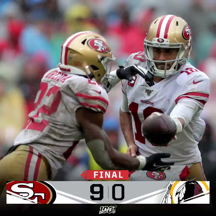 Image for the Tweet beginning: FINAL: The @49ers are 6-0!!