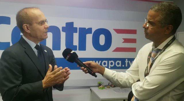 Presidente de @UPR_Oficial , Dr. Jorge Haddock, reitera que siempre ha defendido mantener 11 recintos y no despedir empleados. Hace llamado a la comunidad universitaria a dejar atrás las diferencias y unirse contra los recortes.